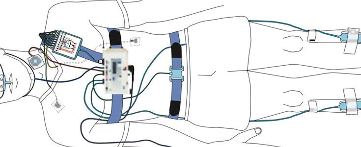 LiPo Batteries LP802730 3.7V 600mAh For Polysomnography(PSG) System