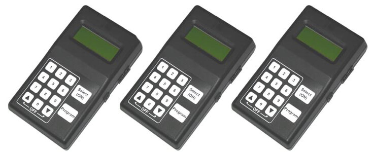 LiPo Batteries 100mAh-200mAh for Portable PIC Programmer