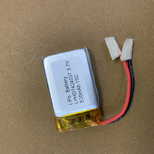 High Rate Hot Selling LiPo Battery LPHD7424037 15C