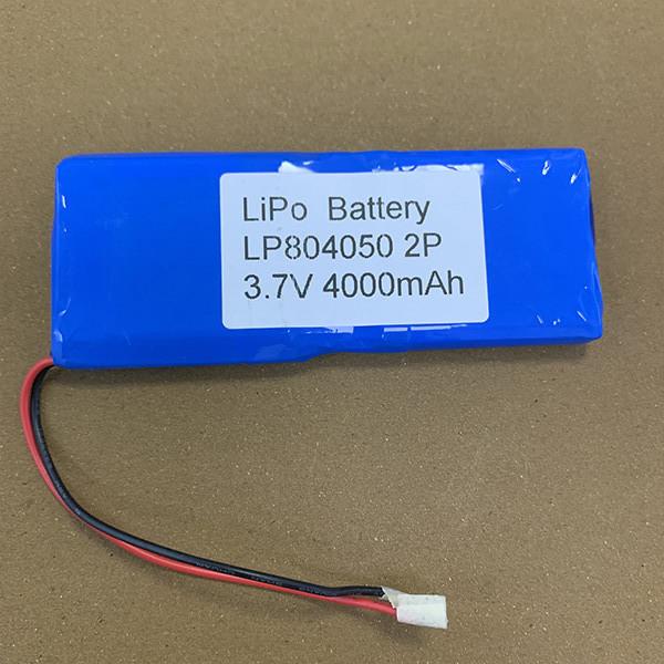 3.7V 2P LiPo Battery LP804050 4000mAh