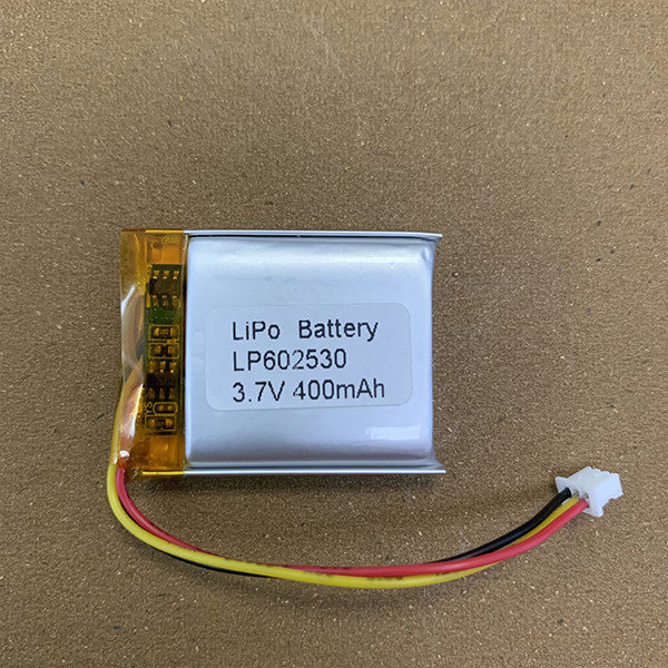 LP602530 400mAh 3.7V Rechargeable LiPo Batteries with Connector Molex 51021-0300