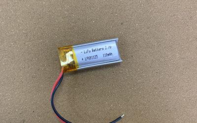 Standard LiPo Battery LP601125 3.7V 110mAh