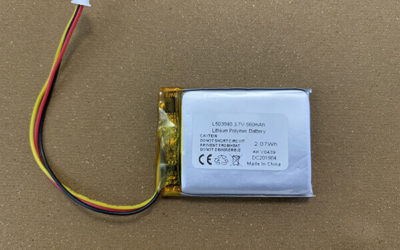 Rechargeable LiPo Battery LP503040 560mAh