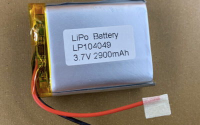 Rechargeable LiPo Battery LP104049 2900mAh