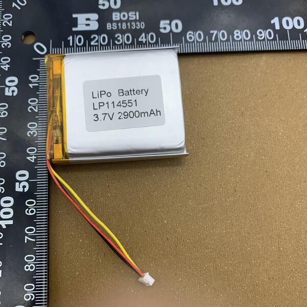 lipo battery lp114551