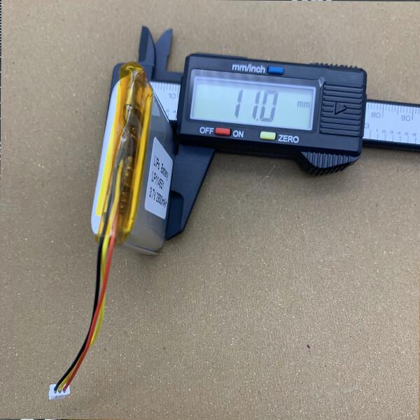 lipo battery lp114551 3