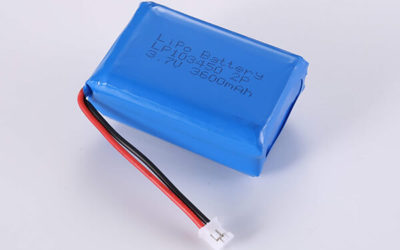 Hot Selling LiPo batteries LP103450 3.7V 2P 3600mAh with 13.32Wh