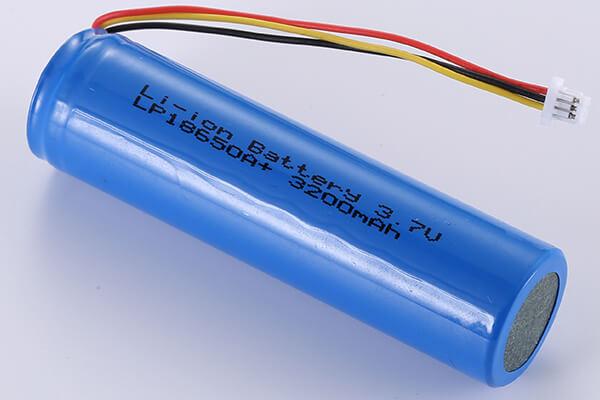 Rechargeable Li-ion batteries LP18650A+ 3.7V 3200mAh