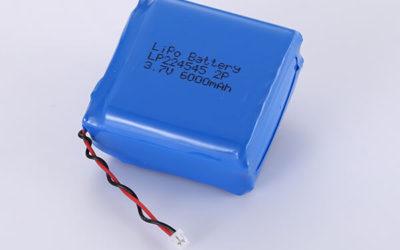 Standard LiPo batteries LP224545 2P 3.7V 6000mAh