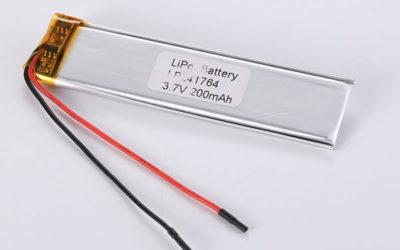 Standard LiPo Battery LP241764 200mAh