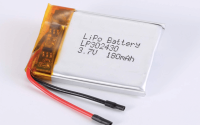 Standard LiPo Battery LP302430 180mAh