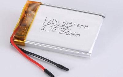Standard LiPo Battery LP302535 200mAh