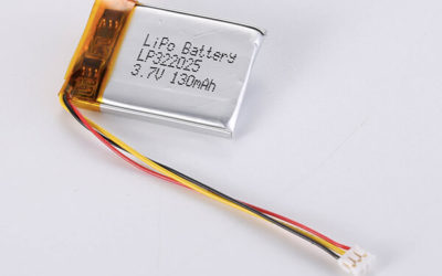 Standard LiPo Battery LP322025 130mAh