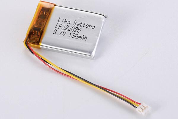 Standard LiPo Battery LP322025 130mAh