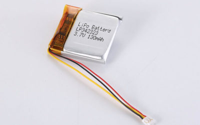 Standard LiPo Battery LP342323 130mAh