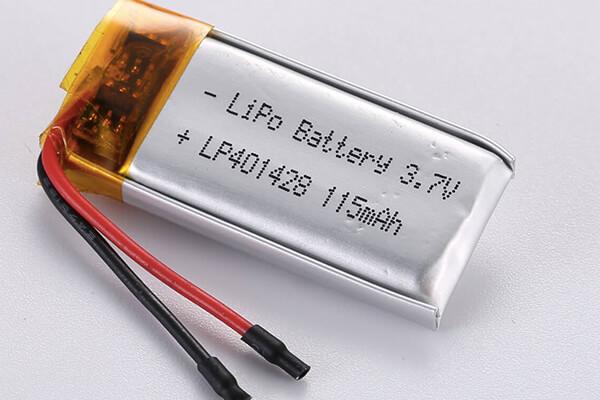 Standard LiPo Battery LP401428 115mAh