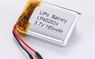 Standard LiPo Battery LP402024 165mAh