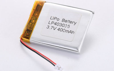 Hot Selling LiPo Batteries LP403035 3.7V 400mAh