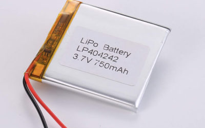 Rechargeable LiPo Batteries LP404242 3.7V 750mA