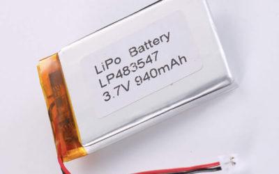 Standard LiPo batteries LP483547 3.7V 940mAh
