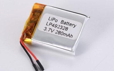 Standard LiPo Battery LP492328 280mAh