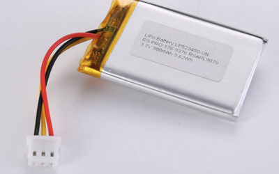 Standard LiPo batteries LP523450 3.7V 980mAh with 3.626Wh