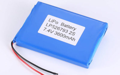 Rechargeable LiPo batteries LP526793 3.7V 3600mAh