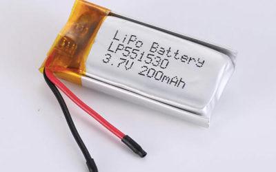 Standard LiPo Battery LP551530 200mAh