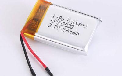 Standard LiPo Battery LP552030 290mAh