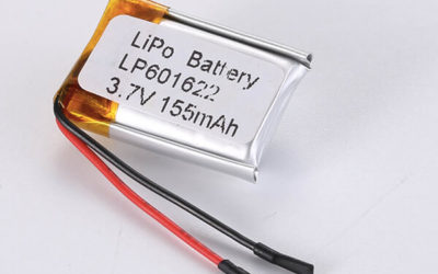 Standard LiPo Battery LP601622 155mAh