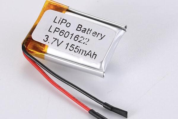Standard LiPo Battery LP601622 155mAh