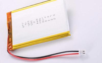 Hot Selling LiPo batteries LP686483 3.7V 4200mAh