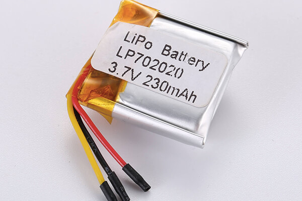 Standard LiPo Battery LP702020 230mAh