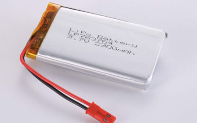 Hot Selling LiPo batteries LP783764 3.7V 2300mAh with 8.51Wh