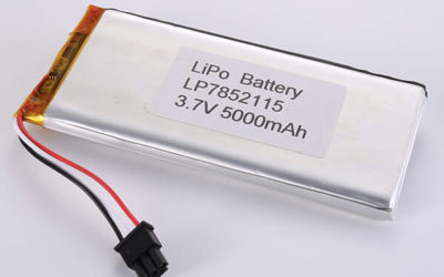 Standard LiPo batteries LP7852115 3.7V 5000mAh with 18.5Wh