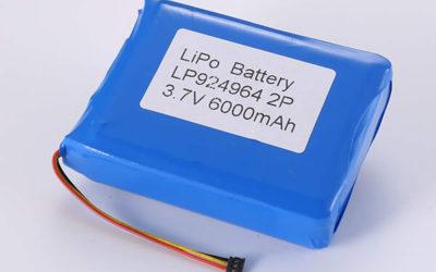 Standard LiPo batteries LP924964 3.7V 2P 6000mAh