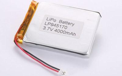 Hot Selling LiPo batteries LP945170 3.7V 4000mAh