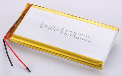 Standard Rechargeable LiPo batteries LP9960115 3.7V 10000mAh