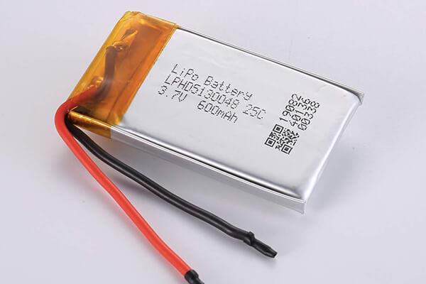 Hot Selling LiPo Batteries LPHD5130048 3.7V 25C 600mAh