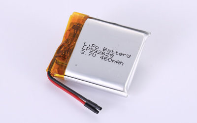 Hot Selling LiPo Batteries LP592629 3.7V 460mAh with 1.702Wh