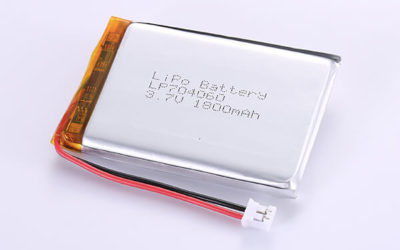 Rechargeable LiPo Batteries LP704060 3.7V 1800mAh with 6.66Wh