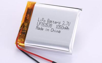 Rechargeable LiPo Batteries LP763538 1050mAh with 3.885Wh