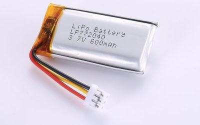Hot Selling LiPo Batteries LP772040 3.7V 600mAh