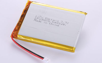 Hot Selling Standard LiPo Batteries LP105878 3.7V 5400mAh