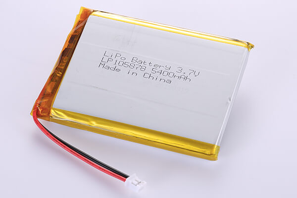 Hot Selling Standard LiPo Batteries LP105878 3.7V 5400mAh
