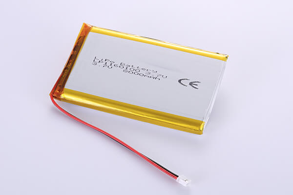3.7V Hot Selling Multipurpose Rechargeable LiPo Batteries LP1160100 8000mAh