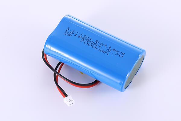 2P Li-ion Battery LP18650A+ 3.7V 7000mAh 25.9Wh