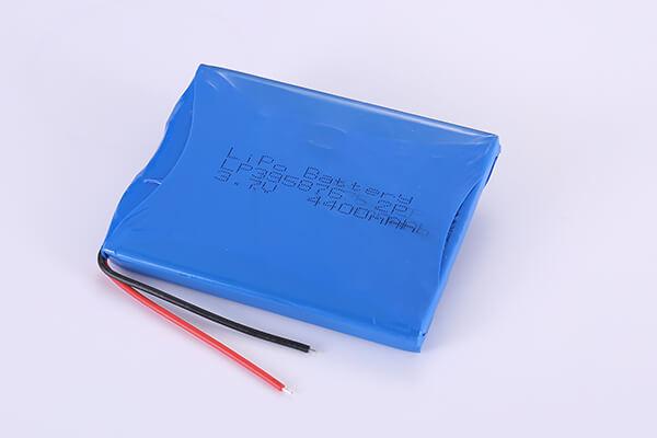 Multipurpose Rechargeable LiPo Batteries LP395876 3.7V 4400mAh