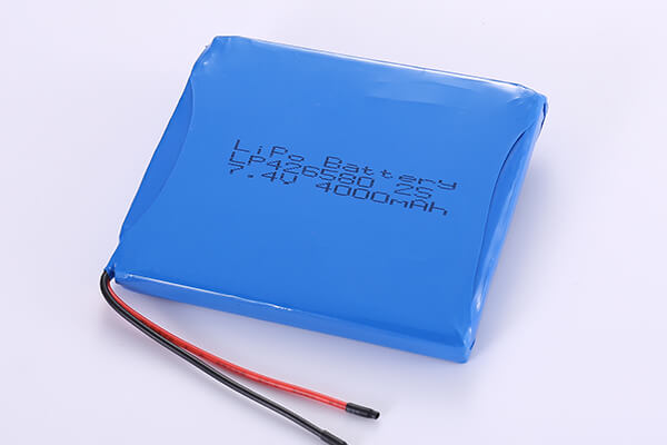 Multipurpose Rechargeable LiPo Batteries LP426580 3.7V 4000mAh
