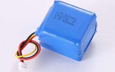 Hot Selling Rechargeable LiPo Batteries LP103740 3P 4500mAh 16.65Wh